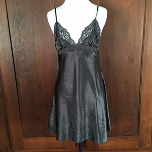 5062cdb6f69 Chemise La Senza Black Medium Satin lace